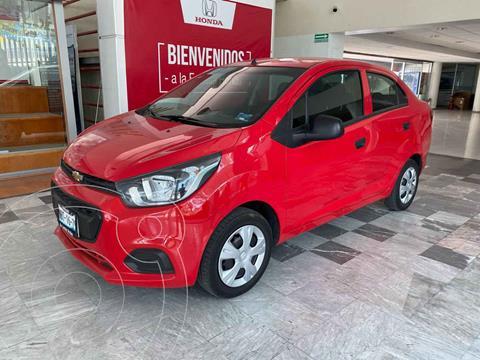 Chevrolet Beat Hatchback LT usado (2018) color Rojo precio $139,000