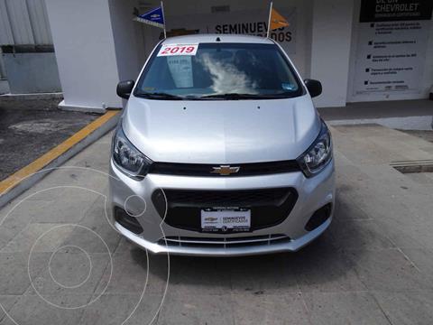 Chevrolet Beat Hatchback LT Sedan usado (2019) color Plata precio $180,000