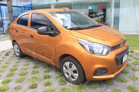 Chevrolet Beat Hatchback LS usado (2021) color Naranja precio $213,900