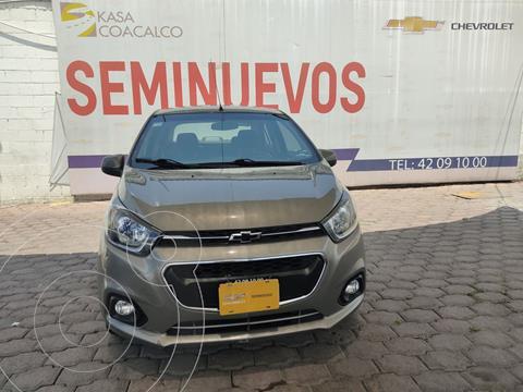 Chevrolet Beat Hatchback LTZ usado (2018) color Gris precio $160,000