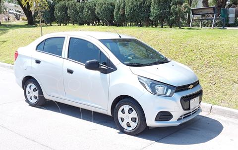 Chevrolet Beat Notchback LT Sedan usado (2018) color Plata precio $120,000