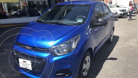 Chevrolet Beat Notchback LT Sedan usado (2019) color Azul Denim financiado en mensualidades(enganche $45,024 mensualidades desde $3,038)
