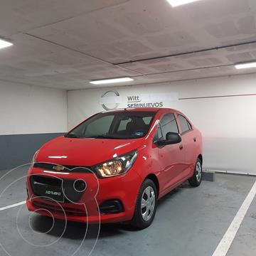 Chevrolet Beat Notchback LT Sedan usado (2020) color Rojo precio $185,000