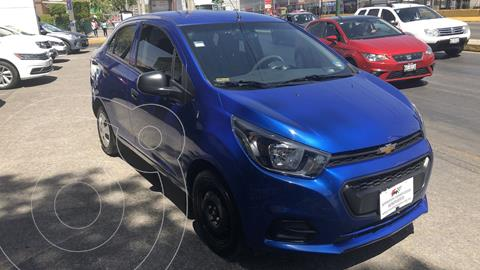 Chevrolet Beat Notchback LT Sedan usado (2018) color Azul Denim financiado en mensualidades(enganche $45,446 mensualidades desde $3,338)