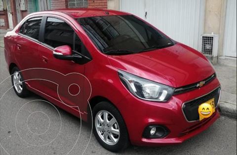 Chevrolet Beat Premier usado (2020) color Rojo precio $35.000.000