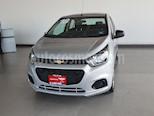 Foto venta Auto usado Chevrolet Beat LT (2018) color Plata precio $152,000