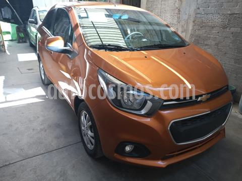 Chevrolet Beat Hatchback LTZ usado (2019) color Naranja precio $147,000