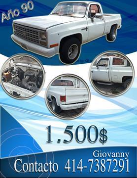 Chevrolet C 10 Big 10 Pick-Up L6 4.9 12V usado (1990) color Blanco precio u$s1.500