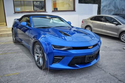 Chevrolet Camaro SS Cabrio usado (2018) color Azul Metalizado precio $12.300.000
