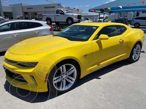 Chevrolet Camaro RS V6 Aut usado (2017) color Amarillo precio $450,000