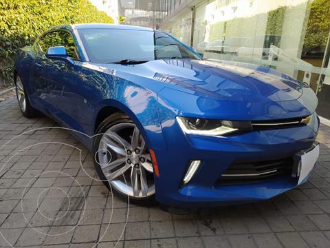 Chevrolet Camaro RS V6 Aut usado (2017) color Azul precio $460,000