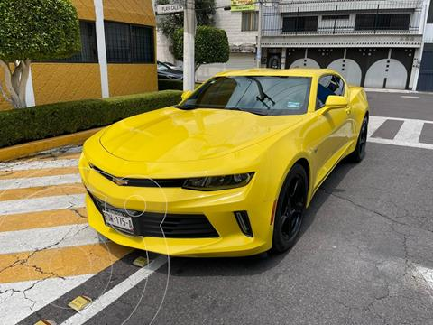 Chevrolet Camaro LT 2.0 T usado (2016) color Amarillo precio $379,900