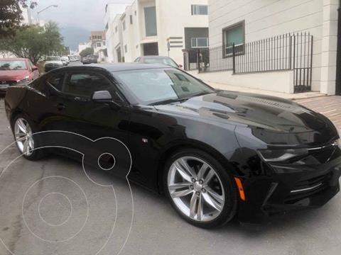 Chevrolet Camaro RS V6 Aut usado (2017) color Negro precio $419,000