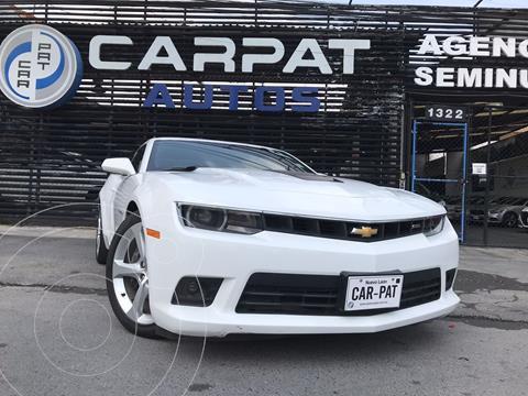 Chevrolet Camaro Coupe Aut usado (2015) color Blanco precio $449,000