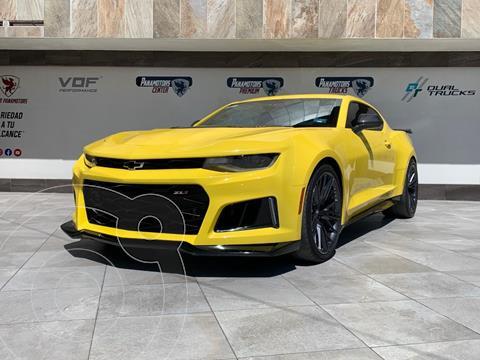 Chevrolet Camaro ZL1 Aut usado (2018) color Amarillo precio $965,000