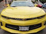 Foto venta Auto usado Chevrolet Camaro RS V6 Edicion Especial Aut (2017) color Amarillo precio $499,000