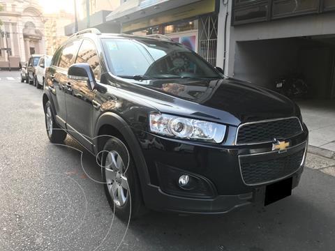 Chevrolet Captiva LS 4x2 usado (2017) color Negro precio $2.650.000