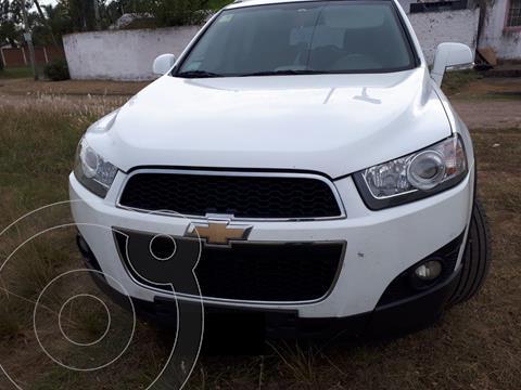Chevrolet Captiva LT 4x4 usado (2012) color Blanco precio $1.400.000