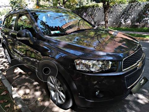 Chevrolet Captiva  LT 2.4 4X4 Aut Full  usado (2014) color Gris Oscuro precio $13.890.000