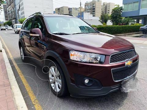 Chevrolet Captiva 2.4L LT 4x4 Full Aut usado (2014) color Rojo precio u$s16,200