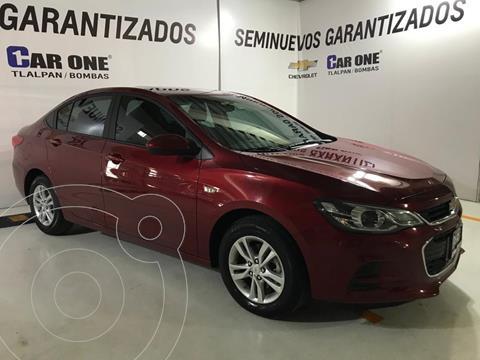 Chevrolet Cavalier Premier Aut usado (2018) color Rojo precio $220,000