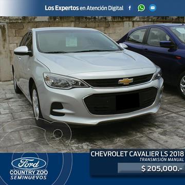 Chevrolet Cavalier LS usado (2018) color Plata precio $205,000