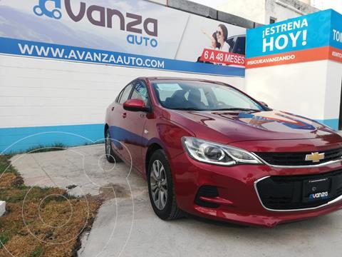 Chevrolet Cavalier Premier Aut usado (2019) color Rojo financiado en mensualidades(enganche $88,120 mensualidades desde $9,622)