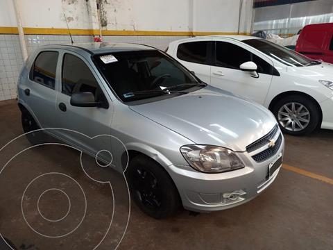 Chevrolet Celta LS 1.4 N 8v (92cv) 5Ptas. usado (2011) color Gris Plata  precio $750.000