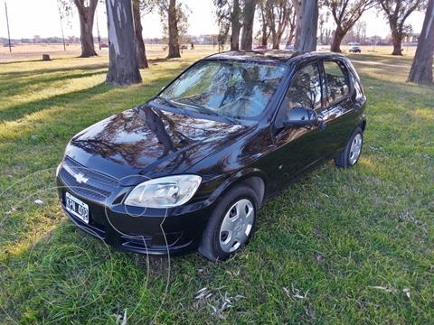 Chevrolet Celta LT 5P usado (2011) color Negro precio $800.000