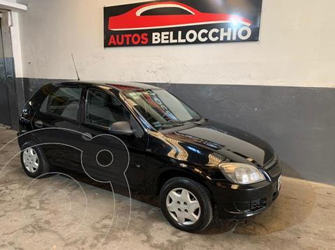 Chevrolet Celta LS 3P usado (2012) color Negro financiado en cuotas(anticipo $360.000)