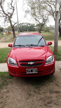 Chevrolet Celta LT 5P Paq usado (2012) color Rojo precio $600.000