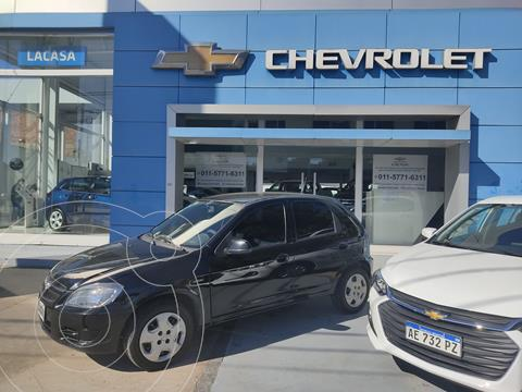Chevrolet Celta LT 5P usado (2012) color Negro precio $580.000