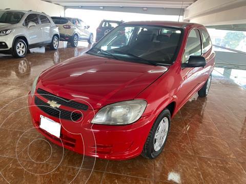 Chevrolet Celta LT 5P Paq usado (2012) color Rojo precio $690.000