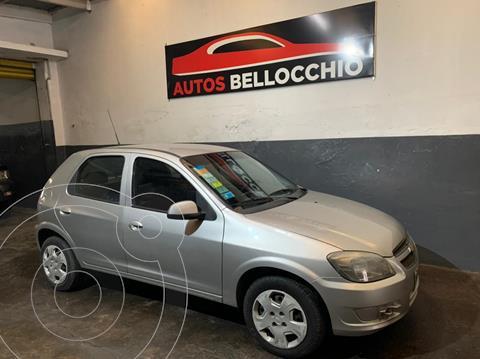 Chevrolet Celta LS 5P usado (2012) color Gris Metalico precio $630.000