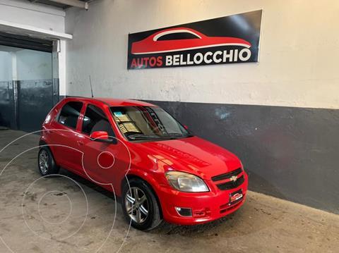 Chevrolet Celta LT 5P usado (2012) color Rojo financiado en cuotas(anticipo $365.000)