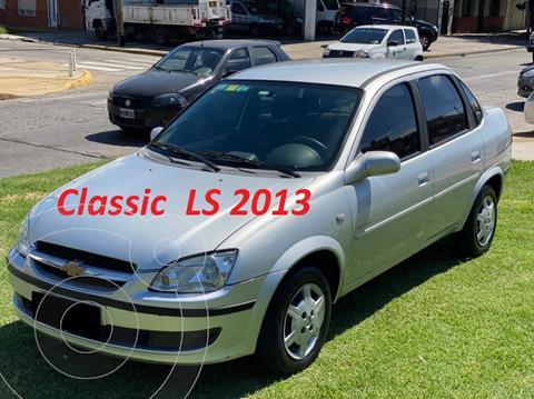 Chevrolet Classic 4P LS usado (2013) color Plata Polaris precio $750.000