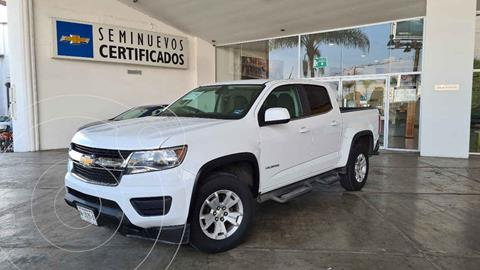 Chevrolet Colorado 3.5L 4x4 Cabina Doble Paq B  usado (2018) color Blanco precio $450,000