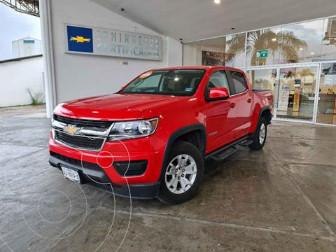 Chevrolet Colorado LT 4x2 usado (2019) color Rojo precio $550,000