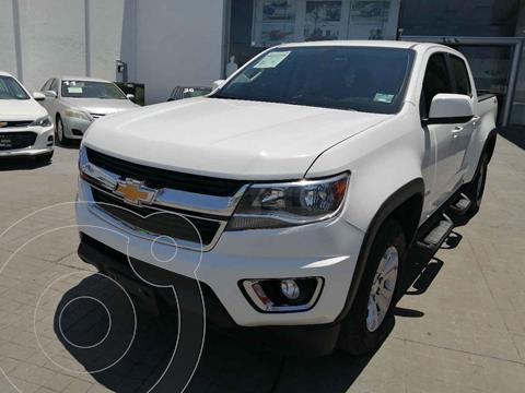 Chevrolet Colorado 3.5L 4x4 Cabina Doble Paq B usado (2018) color Blanco precio $489,000