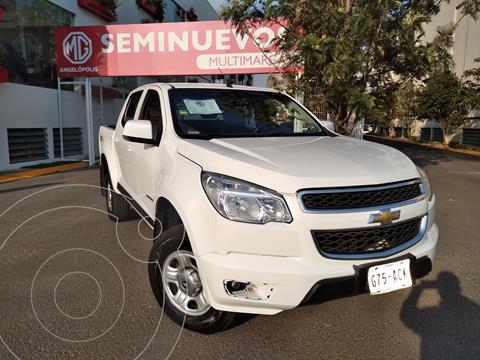 Chevrolet Colorado 3.7L 4x2 Cabina Doble Paq C usado (2015) color Blanco precio $280,000