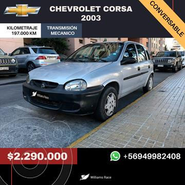 Chevrolet Corsa  1.6 PWR Ac usado (2003) color Gris precio $2.290.000