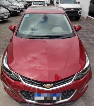 Chevrolet Cruze 5 LTZ Aut usado (2017) color Rojo Velvet financiado en cuotas(anticipo $1.299.900)