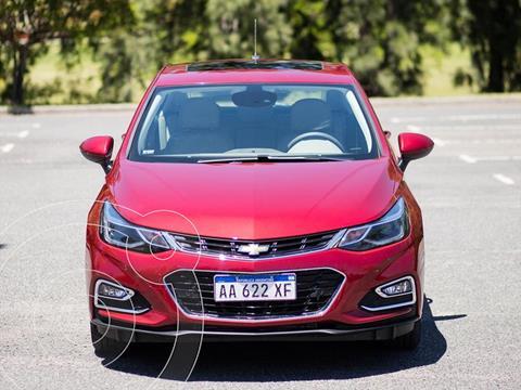 Chevrolet Cruze 5 Premier Aut nuevo color Rojo financiado en cuotas(anticipo $98.000 cuotas desde $29.820)