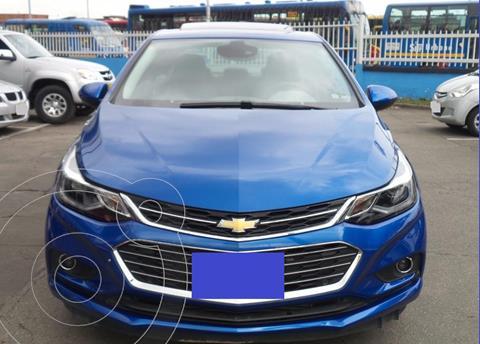 Chevrolet Cruze 5 LT Aut usado (2017) color Azul precio $7.500.000