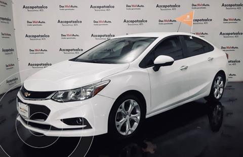 Chevrolet Cruze LT Aut usado (2017) color Blanco financiado en mensualidades(enganche $46,000 mensualidades desde $4,816)
