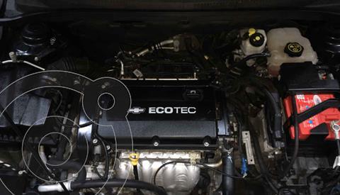 Chevrolet Cruze LT Aut usado (2016) color Gris precio $164,999