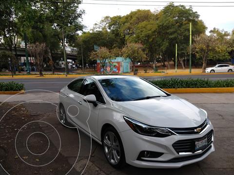 Chevrolet Cruze Premier Aut usado (2017) color Blanco precio $230,000