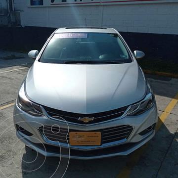 Chevrolet Cruze Premier Aut usado (2018) color Plata precio $295,000