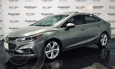 Chevrolet Cruze Premier Aut usado (2018) color Gris financiado en mensualidades(enganche $58,000 mensualidades desde $6,099)