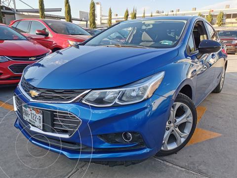 Chevrolet Cruze LT usado (2017) color Azul Cobalto financiado en mensualidades(enganche $77,000 mensualidades desde $6,100)